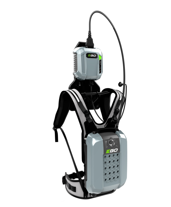 SNELLADER X-SERIE CHX5500E 56V VOOR RUGACCU