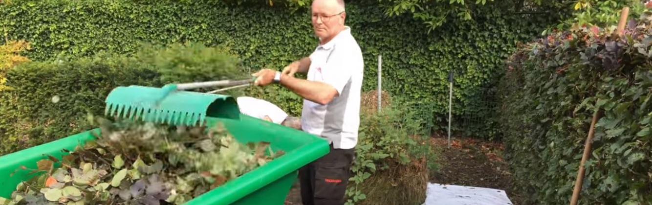 Laat je tuin stralen - Bladeren opruimen zonder bukken - Amazing Rake